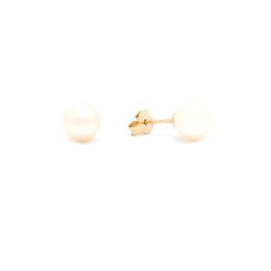 Zlaté náušnice HATRIA s perlou