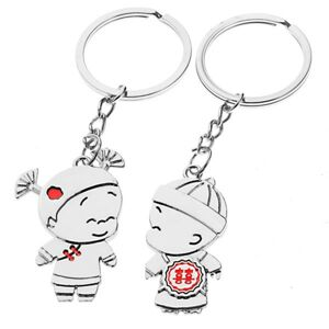 Kľúčenky pre pár - chlapec a dievča, čínske ornamenty