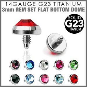 Náhradná hlavička do implantátu z titánu G23 - okrúhly zirkón, 4 mm - Farba zirkónu: Aqua modrá - Q
